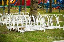 В Хабаровске началась установка «Колеса обозрения»