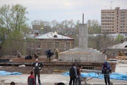 В Хабаровске завершено бетонирование постамента для установки стелы Города воинской славы