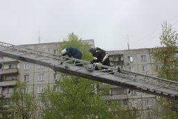 В Хабаровске прошли соревнования огнеборцев по тушению пожаров и спасению людей из высотных зданий