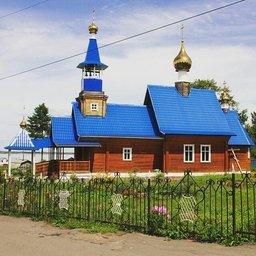 Троицкая церковь в селе Троицкое - административном центре