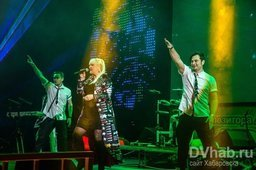 """Выступление группы """"Мираж"""" в Хабаровске"""