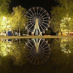 Долгожданное колесо обозрения в Хабаровске