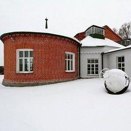 Старая часть центральной насосной станции хабаровского водопровода