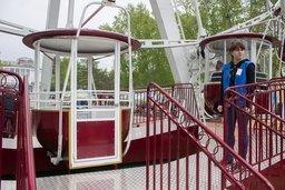 В Хабаровске заработало Колесо обозрения