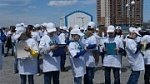 Учащиеся Краевого центра образования завершили учебный год патриотическим флешмобом