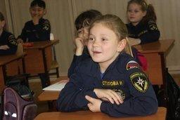 Кадеты хабаровской школы МЧС провели занятие по правилам безопасности для кадетов-младшеклассников