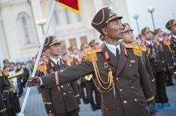Оркестр армии КНДР выступил на фестивале в Хабаровске