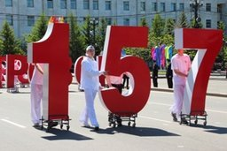 Около 27 тысяч человек приняли участие в праздничном шествии, посвященном 157-й годовщине со дня рождения Хабаровска