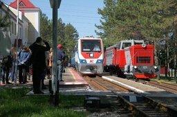 На Детской железной дороге открылся 57-й сезон