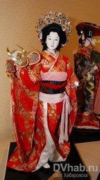 """Выставка """"Куклы Японии"""" в Дальневосточном художественном музее"""