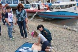 В воскресенье на Центральной набережной Хабаровска прошла профилактическая акция «Не допусти беды у воды»