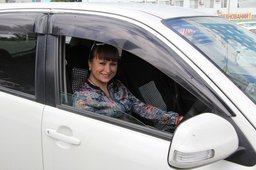 ГИБДД Хабаровска провела конкурс по скоростному маневрированию на авто