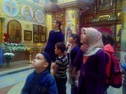 Детям мусульман организовали экскурсию в хабаровский православный храм