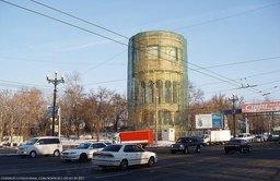 Водонапорная башня на ул. Карла Маркса