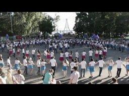 Установленный хабаровчанами всероссийский рекорд по сальсе-руэда признан официально