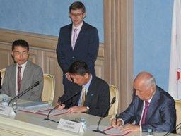 В краевом центре подписано соглашение о расширении сотрудничества между Хабаровском и японской Ниигатой