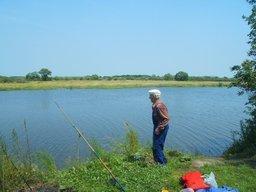 Хабаровские ветераны приняли участие в спортивной рыбалке