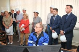 Депутаты Хабаровской городской думы и краевой Законодательной думы Хабаровского края побывали на новых очистных сооружениях водопровода