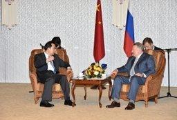 Вячеслав Шпорт пригласил компании провинции Хэйлунцзян принять участие в проектах ТОСЭР