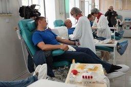 """Команда доноров """"Группа крови"""" собирается на очередную кроводачу"""