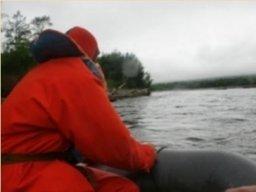 Поисковая операция на реке Хасын Магаданской области