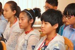 В Хабаровск прибыла делегация подростков из города Харбина (КНР) в рамках программы по обмену школьниками