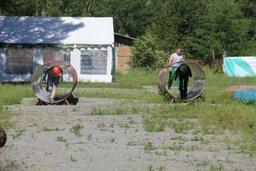 В молодежном центре «Западный» прошла пожарно-спасательная эстафета