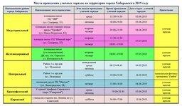В Хабаровске продолжается проведение уличных зарядок