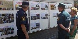 Фотовыставка «Мы первыми приходим на помощь и служим людям» экспонируется в пожарно-спасательных подразделениях Хабаровского края