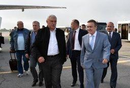 В Хабаровский край прибыла официальная делегация из Санкт-Петербурга