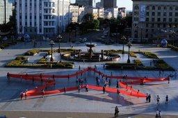 В Хабаровске всех желающих принять участие в акции «Звезда Победы» ждут 29 августа в 16 часов на площади имени Ленина