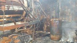 В Хабаровском крае завершаются работы по ликвидации пожара на рыболовецком судне «Мыс Елизаветы»