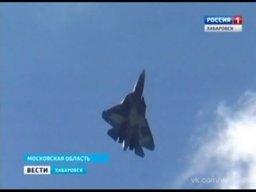 Т-50 Комсомольского авиазавода поразил зрителей МАКС-2015