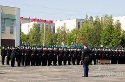 Торжественная церемония приведения первокурсников к военной присяге