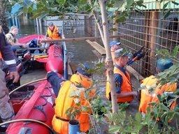 В Уссурийске продолжаются аварийно-восстановительные и спасательные работы