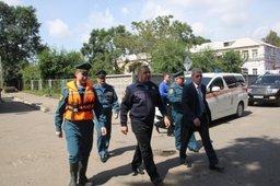 Глава МЧС России Владимир Пучков оценил ход аварийно-восстановительных работ в Приморском крае