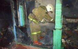Пожарно-спасательные расчеты ликвидировали загорание в садовом обществе