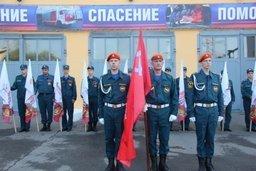 В Главном управлении МЧС Росси по Хабаровскому краю состоялся торжественный митинг, посвященный празднованию Дня окончания Второй мировой войны