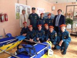 В Хабаровском крае открылся новый кадетский класс