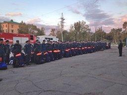 Хабаровская аэромобильная группировка выдвинулась на помощь жителям Уссурийска