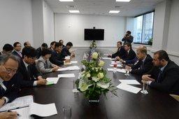 Александр Галушка: для усиления взаимодействия с Южной Кореей будет создана специальная рабочая группа