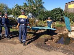 В Уссурийске все подтопленные дома освободились от воды