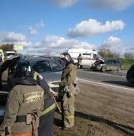 Сотрудники пожарной охраны города Хабаровск ликвидировали последствия ДТП
