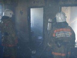 Пожарные ликвидировали загорание, возникшее в результате замыкания электропроводки