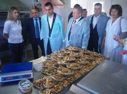 Депутаты Хабаровской городской думы побывали на рыбоперерабатывающем заводе «ДВ-Ареал»