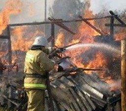 Пожарно-спасательные формирования потушили дачный дом