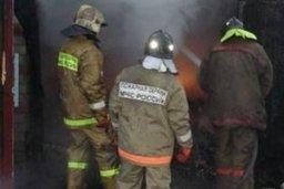 Чуть больше 20 минут потребовалось пожарным, чтобы ликвидировать загорание в гараже