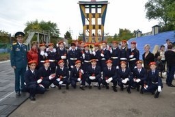 Посвящение в кадеты и принятие присяги состоялось в Специальном управлении ФПС № 24 МЧС России