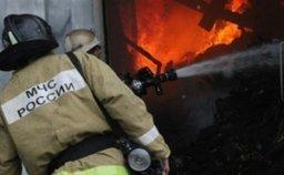 Пожарно-спасательные формирования Хабаровска привлекались к тушению пожара в гараже