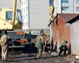 Из Центрального района Хабаровска вывезут около 300 несанкционированных гаражей